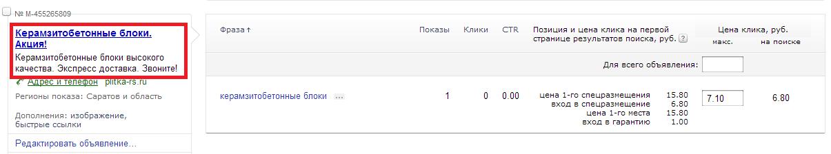 Яндекс Директ для начинающих